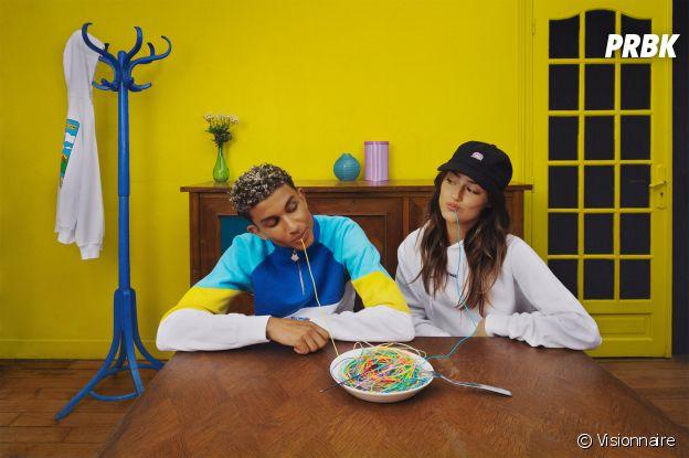 Bigflo & Oli dévoilent la nouvelle collection de Visionnaire : une ligne de vêtements unisexe, au style streetwear et coloré
