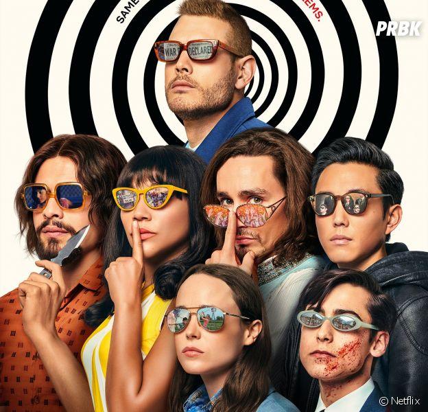 L'affiche de la saison 2 de Umbrella Academy contient des indices cachés !
