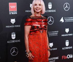 Victoria Abril en janvier 2020