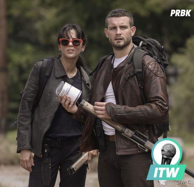 The Walking Dead World Beyond : Nico Tortorella et Annet Mahendru en interview