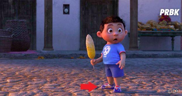 Coco : des chaussures Flash McQueen dans le film