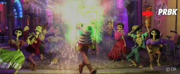 Coco : un poster des Indestructibles dans le film