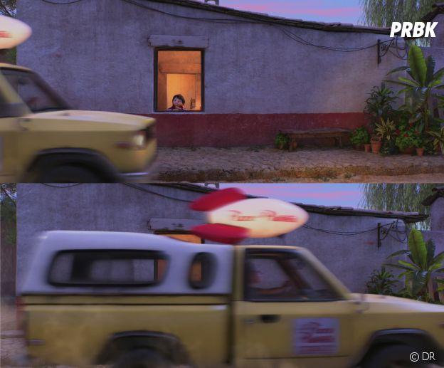 Coco : le camion Pizza Planet est présent