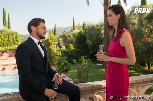 Il était une fois à Monaco : Rayane Bensetti (Mehdi) et Anne Serra (Elena)