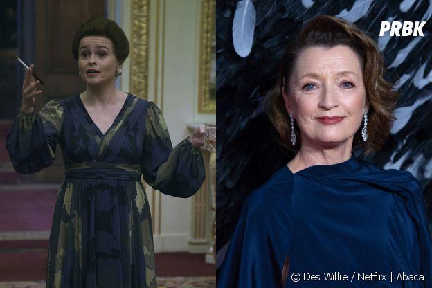The Crown saison 5 : Helena Bonham Carter remplacée par Lesley Manville