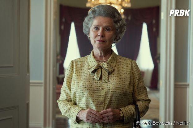 The Crown saison 5 : Imelda Staunton dans le rôle de la Reine Elisabeth II