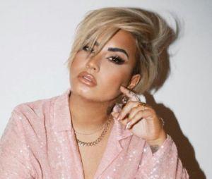 Demi Lovato en studio pour enregistrer une chanson sur l'attaque du Capitole : de nombreux internautes se moquent