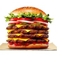 Burger King dévoile son plus gros burger : un Whopper avec 4 steaks... voire 5 si vous avez faim