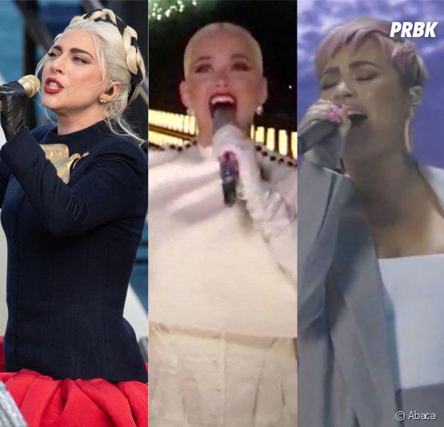 Lady Gaga, Katy Perry, Demi Lovato... Les stars ont chanté pour l'investiture de Joe Biden