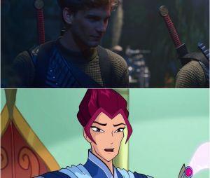 Destin, La Saga Winx : Riven n'a plus les cheveux magenta dans la série