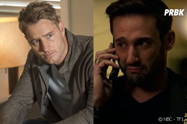 Kevin (Justin Hartley) dans This is US vs Michaël (Guillaume Labbé) dans Je te promets