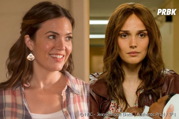 Rebecca (Mandy Moore) dans This is US vs Florence (Camille Lou) dans Je te promets