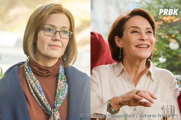 Rebecca version âgée (Mandy Moore) dans This is US vs Florence version âgée (Nathalie Roussel) dans Je te promets