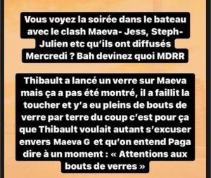 Les Marseillais à Dubaï : un clash entre Thibault et Maeva coupé au montage ?