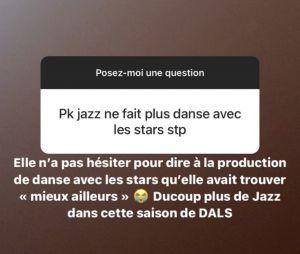 Jazz Correia refuse de participer à Danse avec les stars 2021 ?