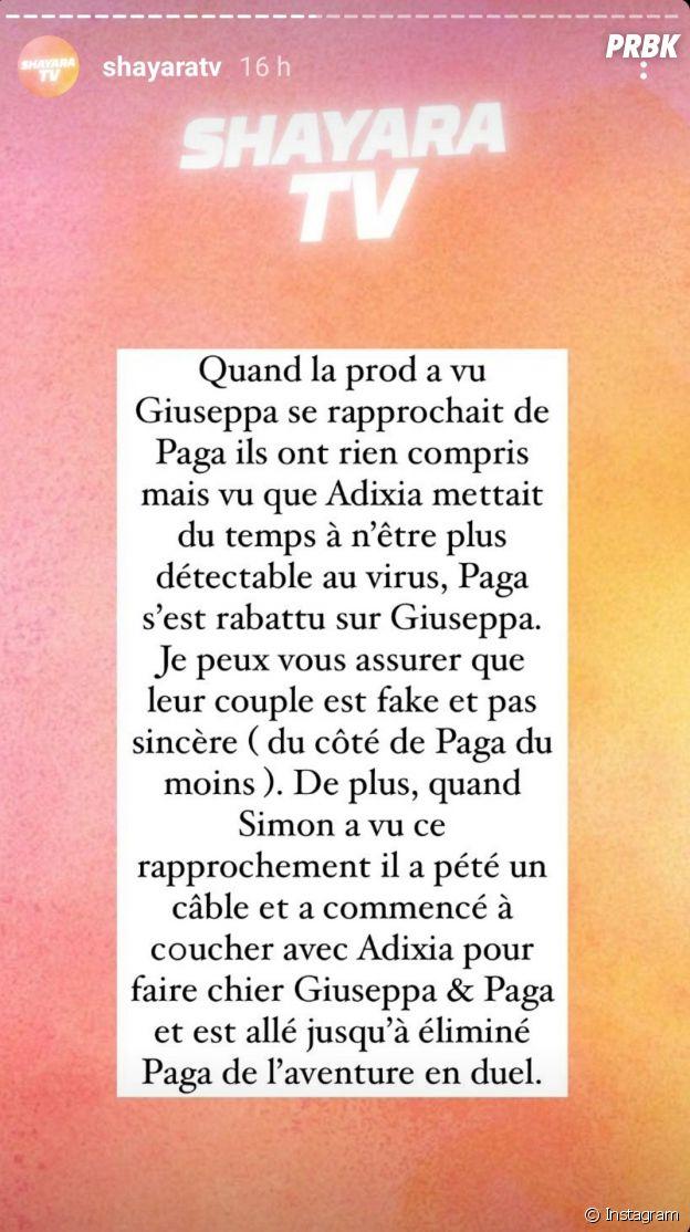 Adixia (Objectif Reste du Monde) aurait couché avec son ex Paga avant Les Marseillais VS Le Reste du Monde 6, ils auraient voulu se remettre en couple