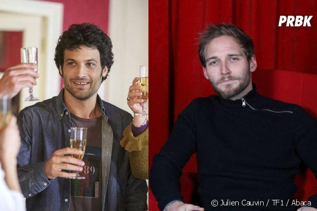 Clem saison 12 : François David Cardonnel (à droite) remplace Benoît Michel (à gauche) dans la suite de la série