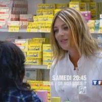 Sosie ! Or not sosie ? ... regardez Eve Angeli vendre des suppositoires
