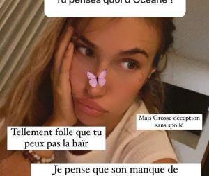 """Luna (Les Marseillais) attaque Océane sur Instagram : elle est """"tellement folle"""", """"mauvaise de fou"""""""