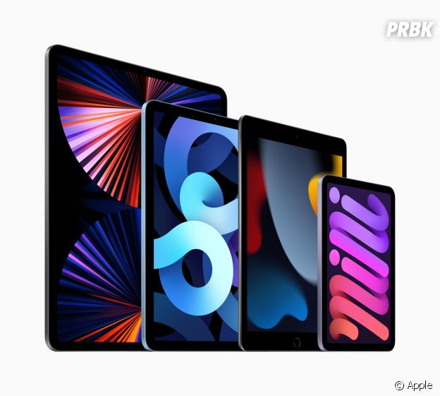 La famille de l'iPad