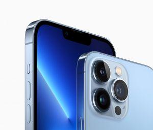 L'iPhone 13 Pro en bleu alpin
