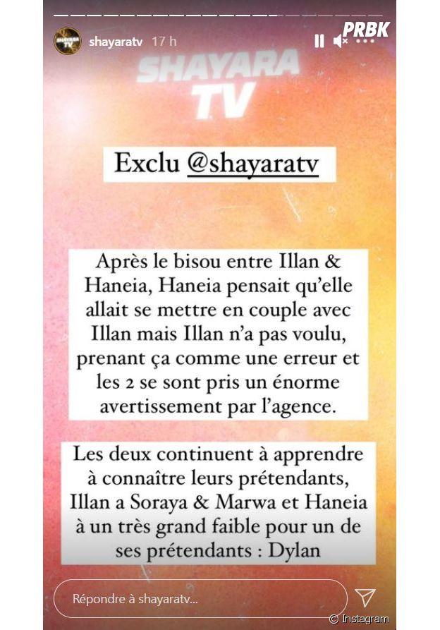 Les Princes et les Princesses de l'amour 5 : Illan et Haneia en couple sur le tournage ?