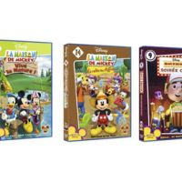 La Maison de Mickey, Manny et ses outils et Le Lapin de velours  ... en DVD chez Disney