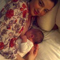 Miranda Kerr ... elle nous montre son fils en petite tenue