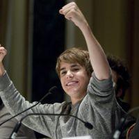 Justin Bieber ... photos de sa conf' pour l'avant-première au Canada de Never Say Never
