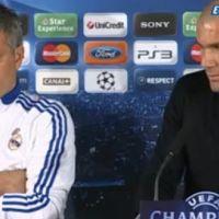 Zinedine Zidane ... Il parle du match OL-Real de Madrid (vidéo)