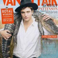 Robert Pattinson ... Il brave le danger pour Vanity Fair (photos)