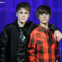 Justin Bieber ... Les photos de son horrible statue de cire