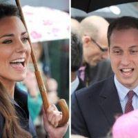 Kate Middleton et Prince William : sortie publique avec sourires et parapluies (PHOTOS)