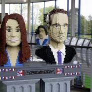 PHOTOS ... Kate et William ... en Lego : la folie continue