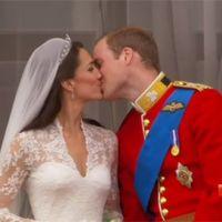 Mariage de William et Kate ... le bisou en photos