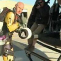 Jetman alias Yves Rossy ... la vidéo de l'homme qui survole le Grand Canyon