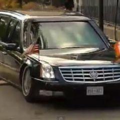 Barack Obama en Irlande ... Sa cadillac coincée sur un dos d'âne ... la vidéo buzz