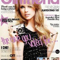 Taylor Swift ... En couverture du magazine Girlfriend (PHOTO)