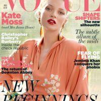 Kate Moss : Vogue a choisi la jeune mariée pour sa couverture (PHOTO)