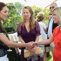 Quand Kate et William rencontrent les stars américaines (PHOTOS)