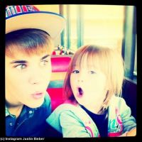 Justin Bieber : sa petite sœur lui fait de l'ombre (PHOTOS)