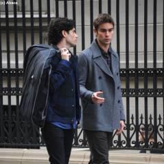 Gossip Girl : Dan et Nate tournent pendant que Blair nous montre sa robe de mariée (PHOTOS)