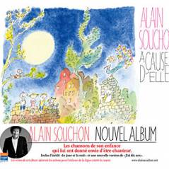 Alain Souchon : A cause d'elles, il chante pour les enfants (VIDEO)