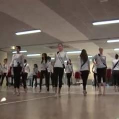Miss France 2012 : les coulisses des répétitions sans string (VIDEO)