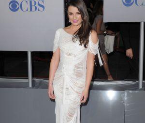 Lea Michele sur le tapis rouge des People's Choice Awards