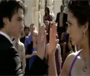 Elena et Damon dans la saison 1