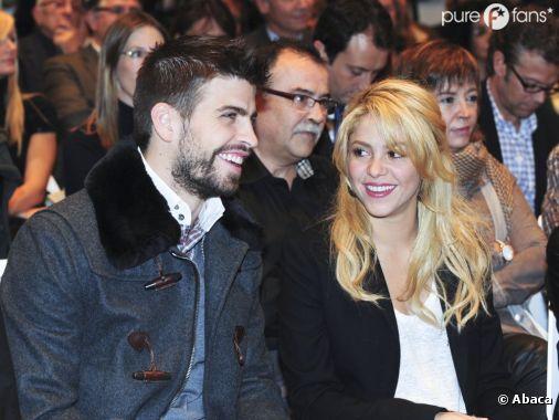 Shakira et son futur mari Gerard Piqué