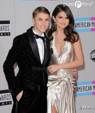 Justin et Selena sur le tapis rouge