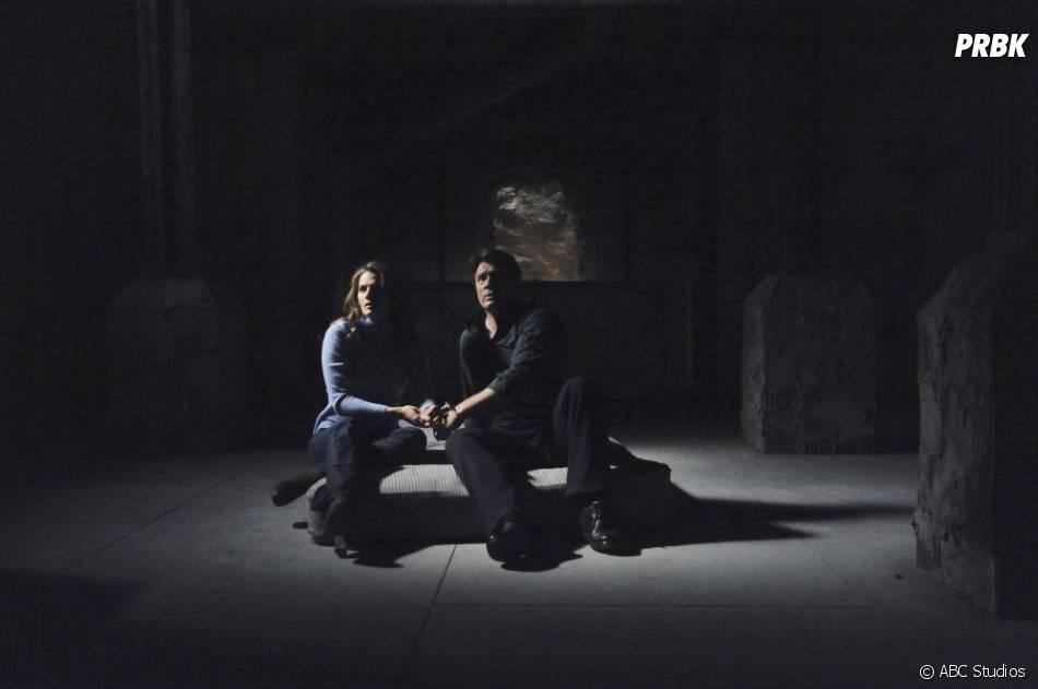 Castle et Beckett dans l'épisode 10 de la saison 4
