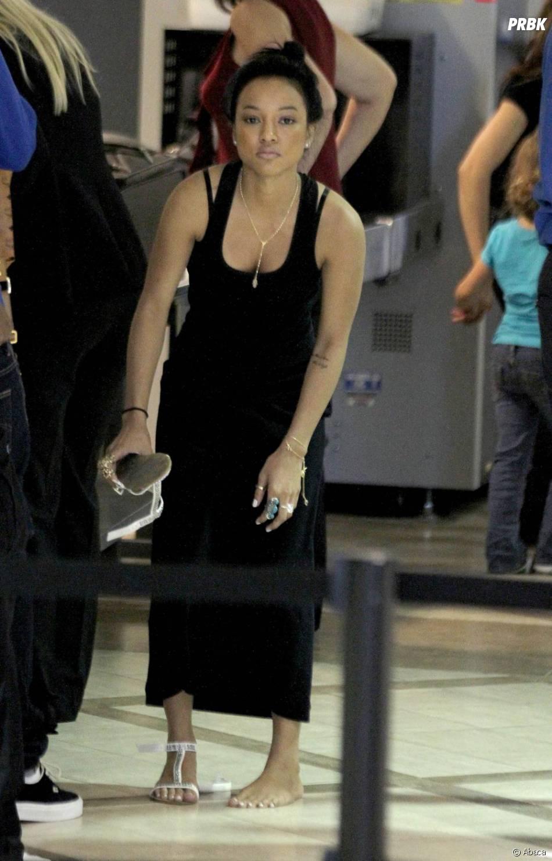 La nouvelle petite amie de Chris Brown, Karrueche.